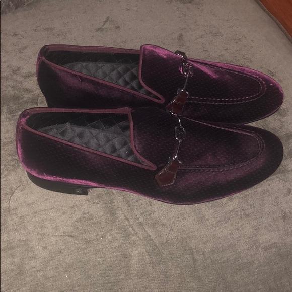 Louis Vuitton Shoes | Men Burgundy